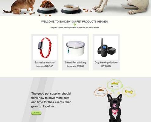 Wordpress外贸宠物食品主题模板