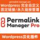 permalink manager pro2.2.1.4中文汉化